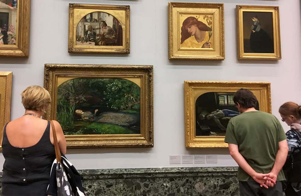 The Art Wanderer website project