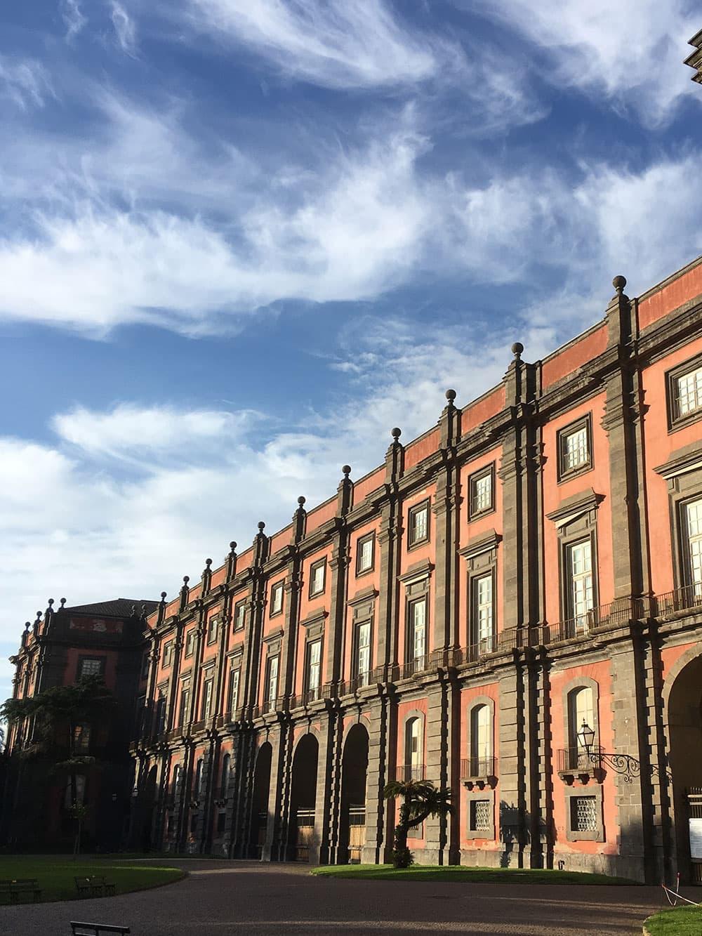Capodimonte Palace facade