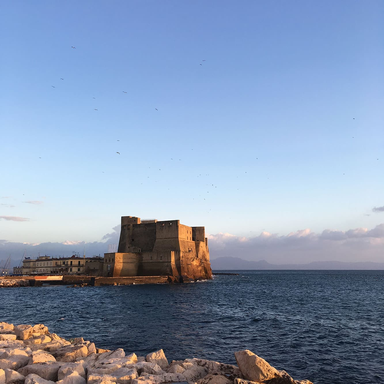 Castel dell'Ovo is free to visit all year round