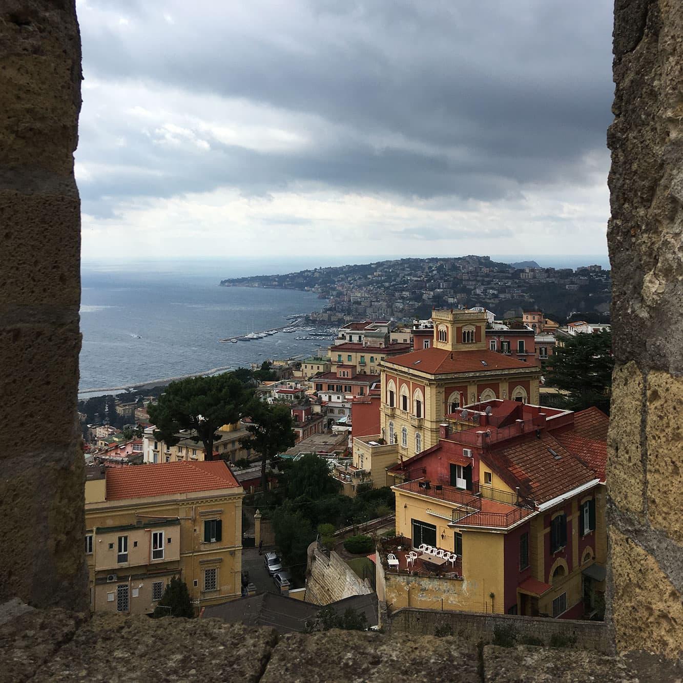 Looking towards Mergellina from Castel Sant'Elmo